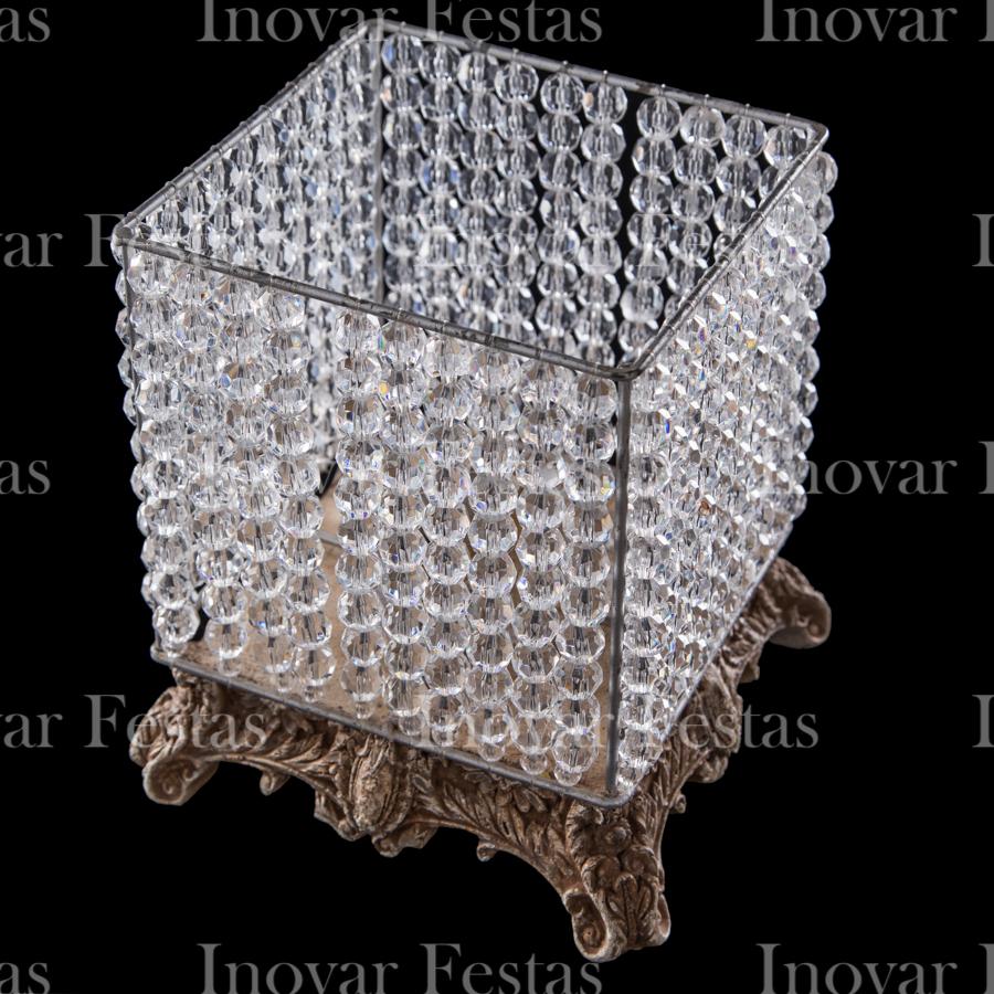Luminária Resina Strauss Cristal Empório