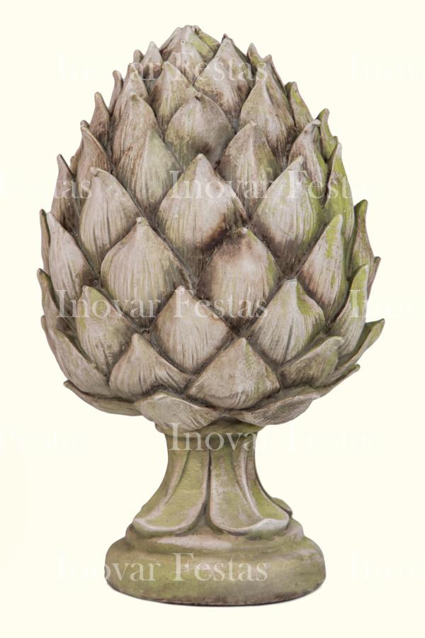 Pinha Resina Itália Emporium M Patina Verde Celadon